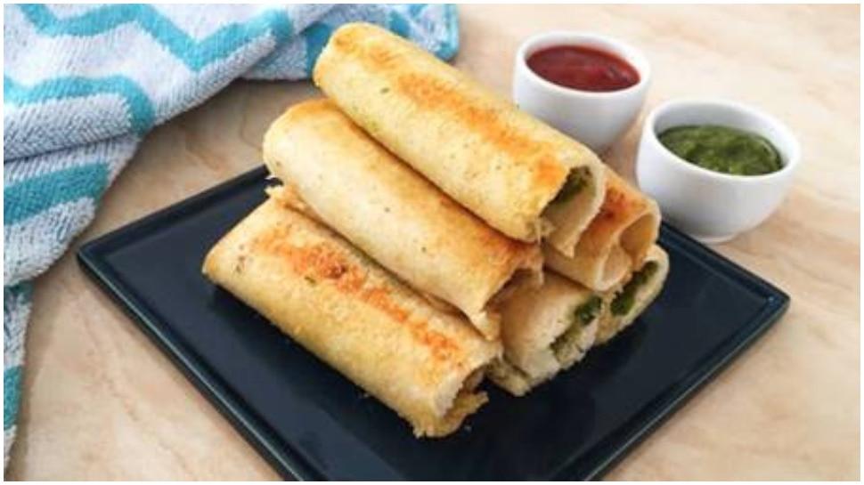 अब ब्रेड से 5 मिनट में बनेंगे टेस्टी Spring Roll, जानिए आसान रेसिपी