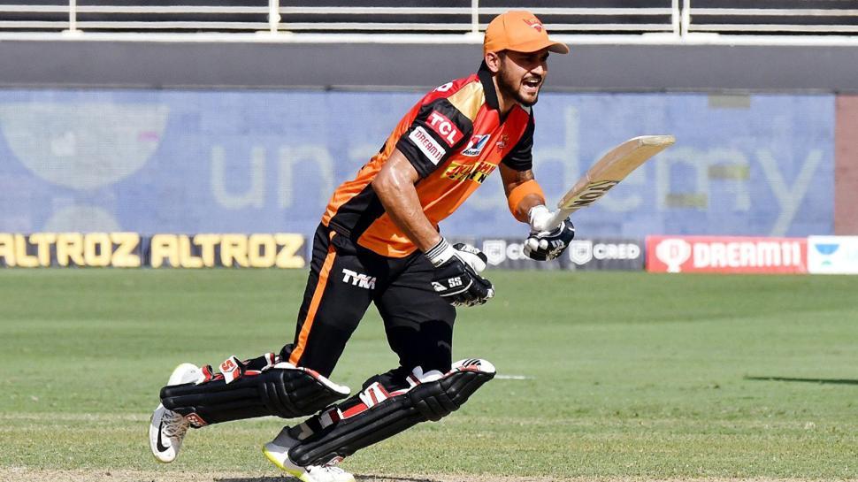 IPL 2020: आईपीएल में मनीष पांडे ने हासिल किया यह खास कीर्तिमान