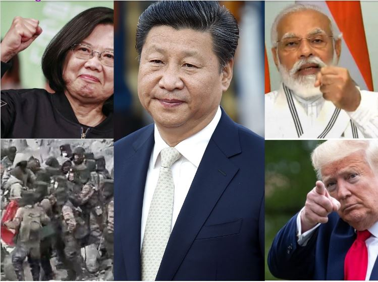 China on target: जिनपिंग को जंग पसंद है !