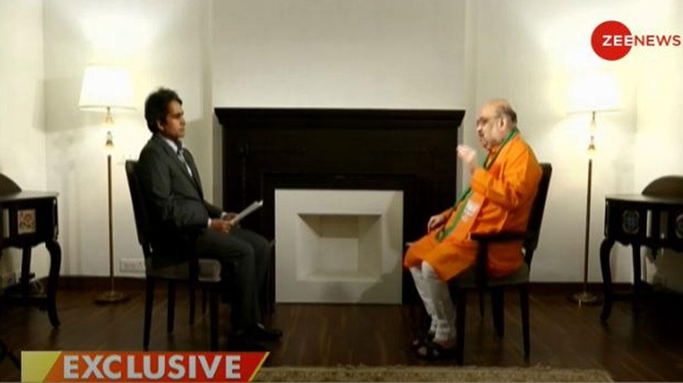 #AmitShahOnZeeNews: बिहार में NDA का DNA क्या है? जानिए अमित शाह ने क्या कहा