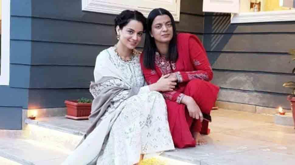 कंगना रनौत और बहन रंगोली को मुंबई पुलिस ने दिया पेश होने का नोटिस, ये है मामला