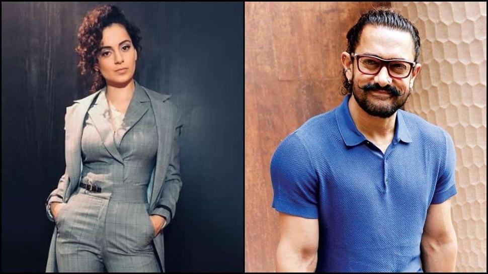 अब आमिर खान पर भड़कीं कंगना रनौत, पूछा- Intolerance गैंग ने कितने कष्ट सहे?