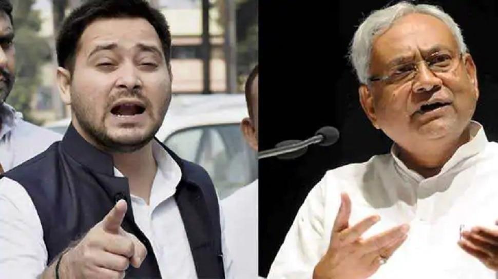 बिहार चुनाव: तेजस्वी का नीतीश पर तंज, कहा- कोरोना में घर में बंद थे, अब वोट मांगने निकले हैं