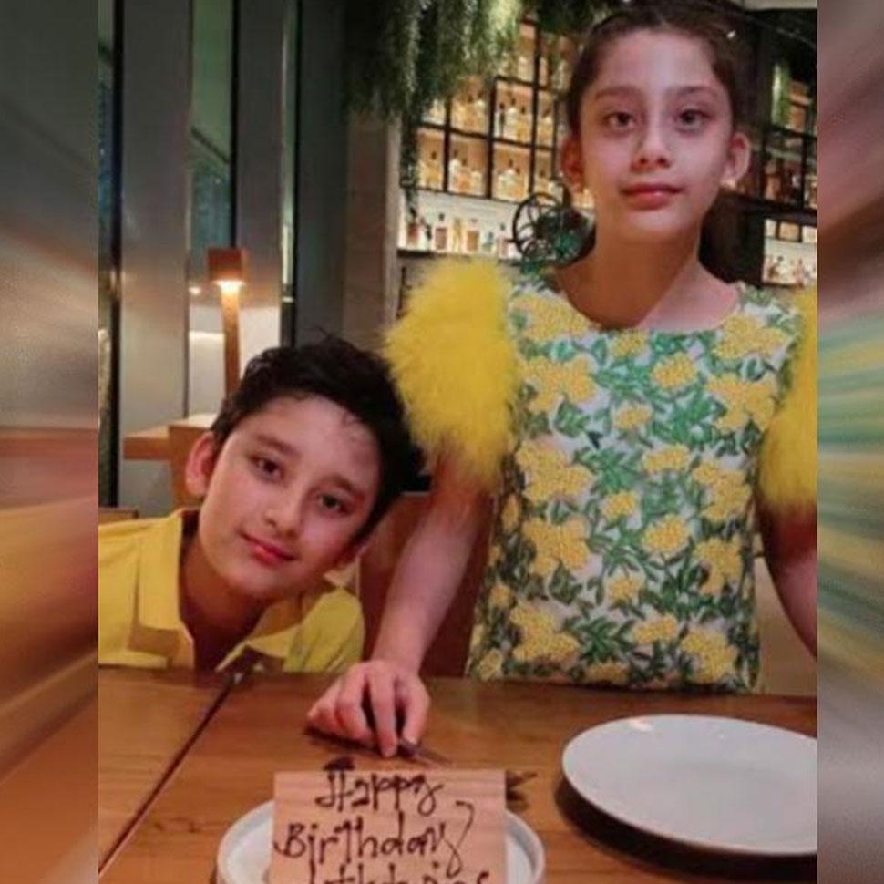 Sanjay Dutt celebrates children's birthday on video call