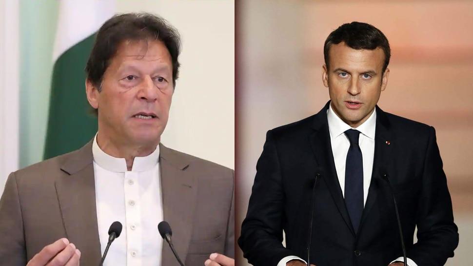 फ्रांस के राष्ट्रपति पर भड़के इमरान खान, लगाया इस्लामोफोबिया को बढ़ावा देने का आरोप