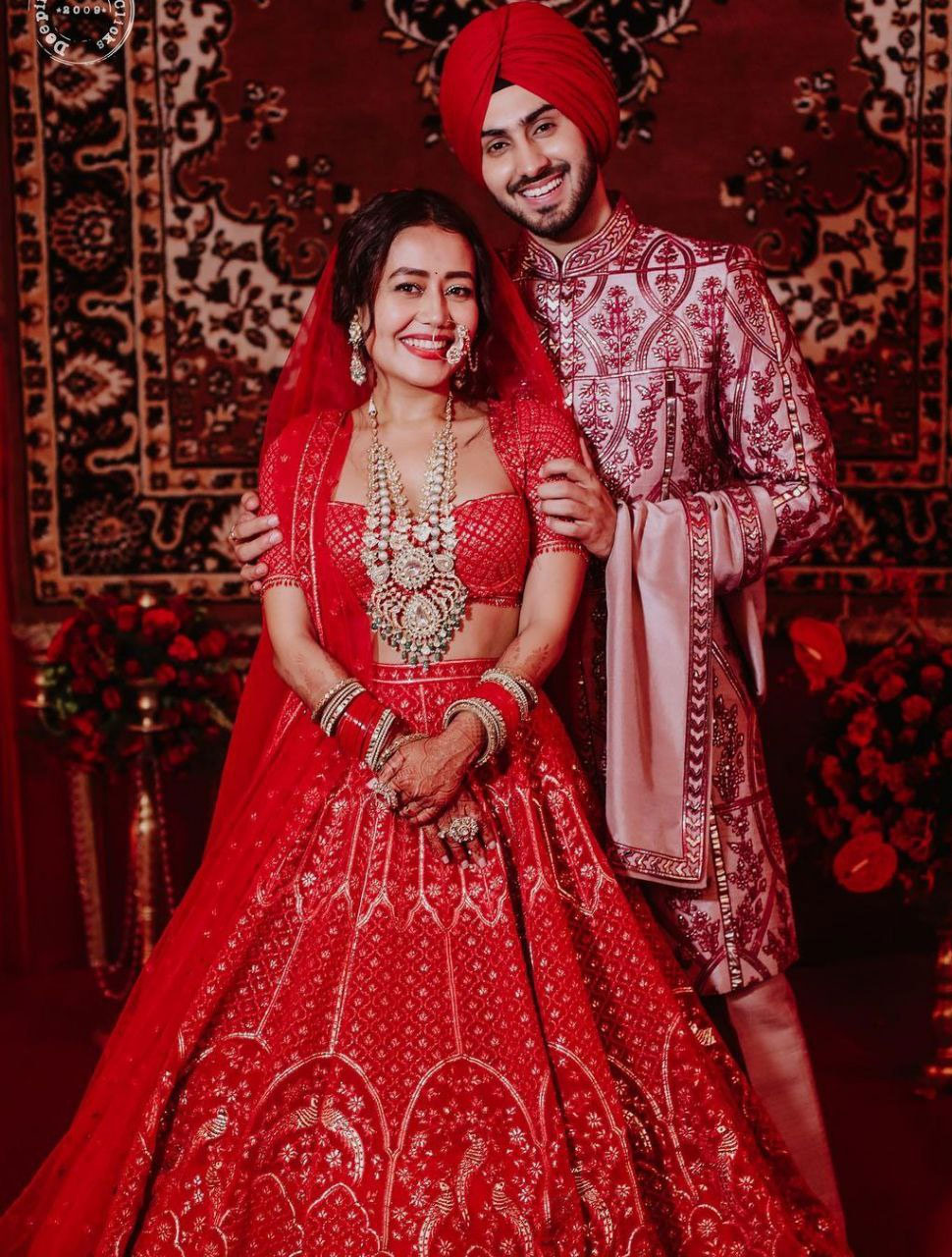 Neha kakkar Rohanpreet Singh wedding Photoshoot