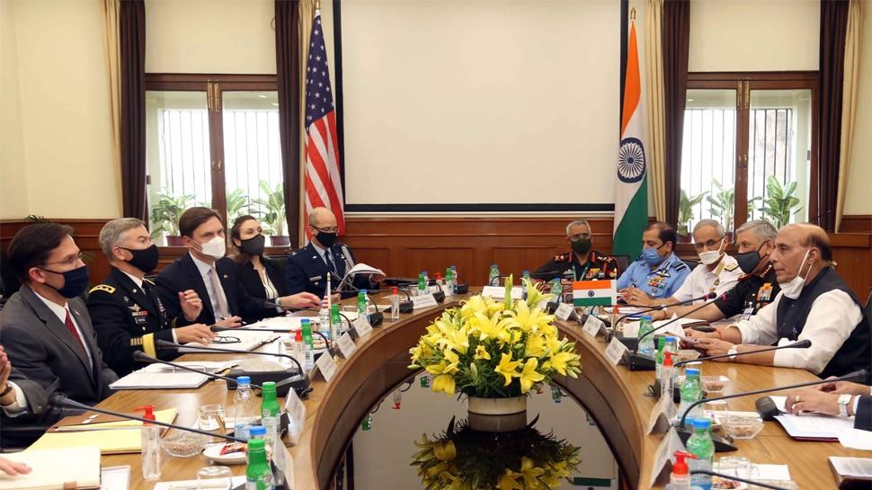 भारत-अमेरिका के बीच आज होगा सैन्य समझौता, पाकिस्तान-चीन की मुश्किलें बढ़नी तय
