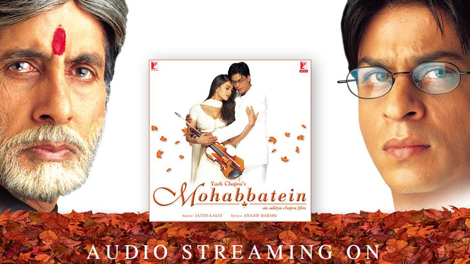 'मोहब्बतें' रिलीज के हुए 20 साल पूरे, यादों में खोए Amitabh Bachchan