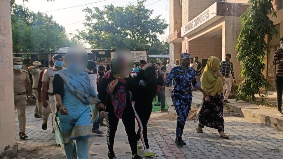 पंचकूला में अंतरराष्ट्रीय सेक्स रैकेट का भंडा फोड़, चार लोगों को किया ग्रिफ्तार