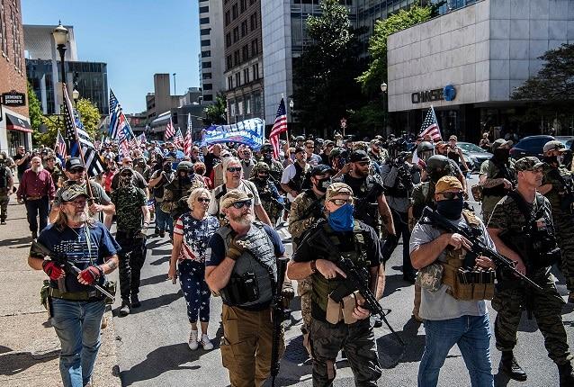 America में लोगों को चुनाव में हिंसा का डर, हो रही है हथियारों की खरीद