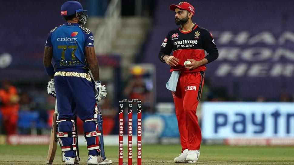 IPL 2020: विनिंग शॉट लगाते ही सूर्यकुमार ने दिया कोहली को स्लेजिंग का जवाब