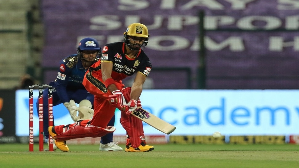 RCB gives 165 runs target