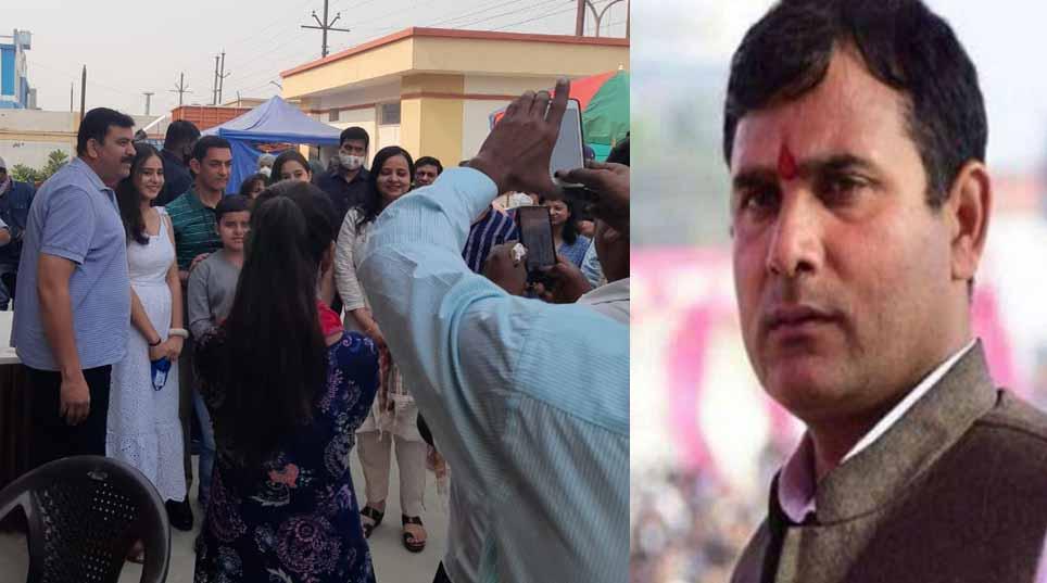 गाजियाबाद में शूटिंग करने आए थे आमिर, BJP विधायक ने कर दी पुलिस से शिकायत
