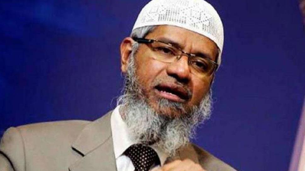 जाकिर नाइक ने उगला जहर- 'अल्लाह के बंदे को गाली देने वाले को दर्दनाक सजा मिलेगी'