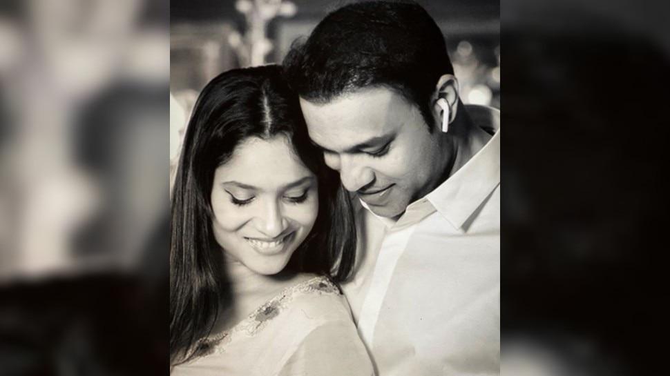 Ankita Lokhande को बॅायफ्रेंड विक्की जैन पर आया प्यार, सोशल मीडिया पर लिखा प्यारा मैसेज