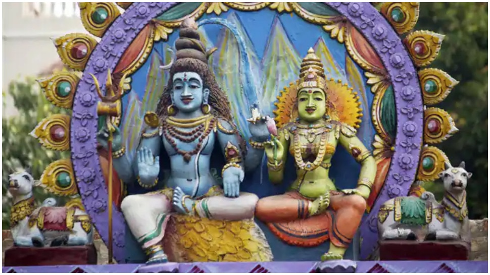 Idols of Lord Shiva and Goddess Gauri