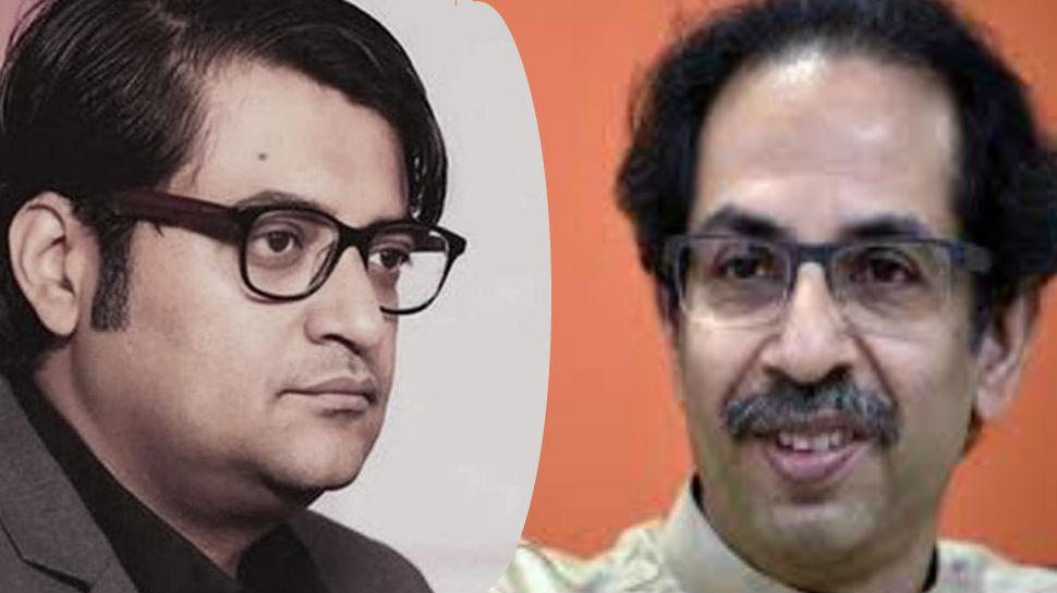 शिवसेना ने 'सामना' के जरिए Arnab Goswami और भाजपा पर साधा निशाना