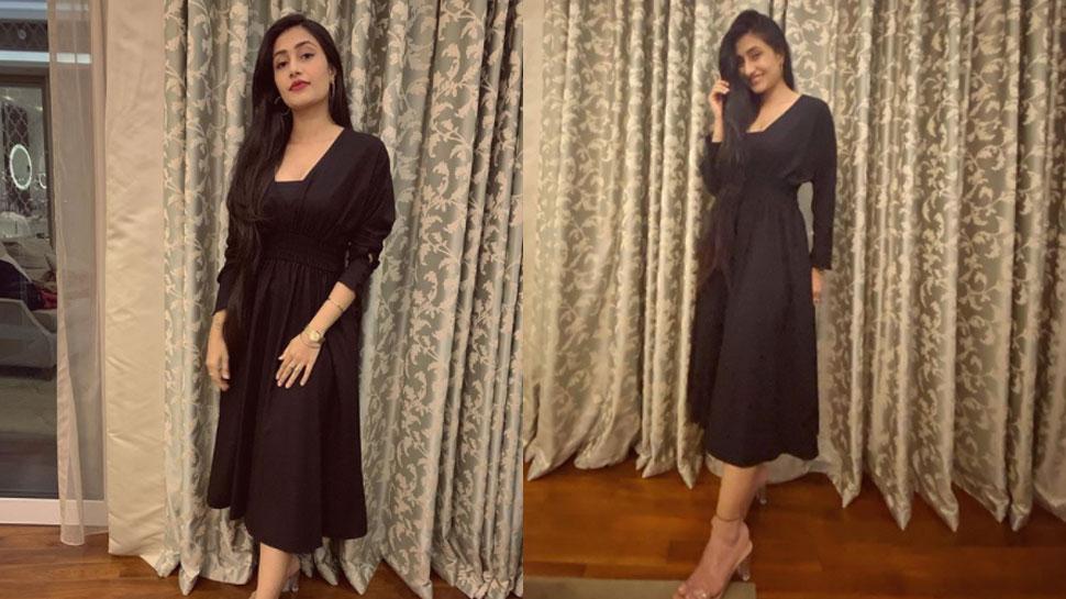 युजवेंद्र चहल की मंगेतर धनश्री वर्मा ने Black Dress में ढाया कहर