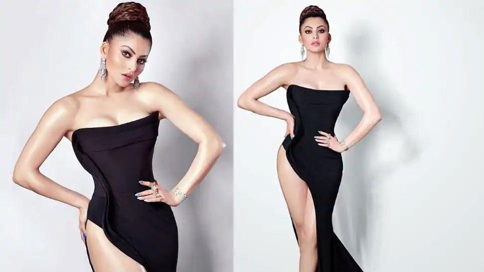Urvashi Rautela की ये फोटो देख सबके उड़े होश, 37 करोड़ की पहनी है ड्रेस