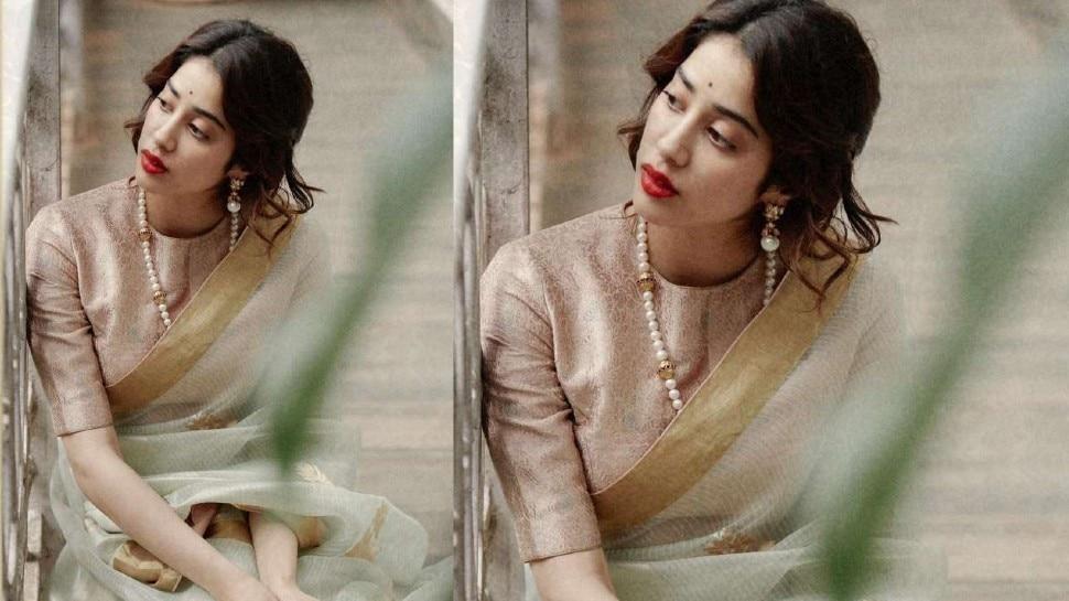 Janhavi Kapoor Retro look