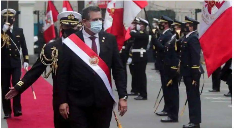 पेरू में उथल-पुथल के बीच अंतरिम राष्ट्रपति ने दिया इस्तीफा, ये है वजह