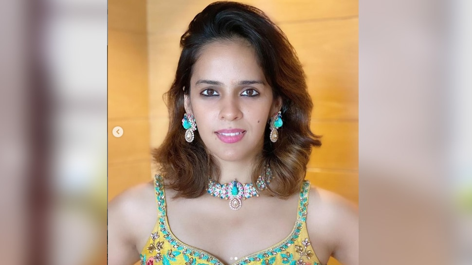 Saina Nehwal Ethnic Dress 5