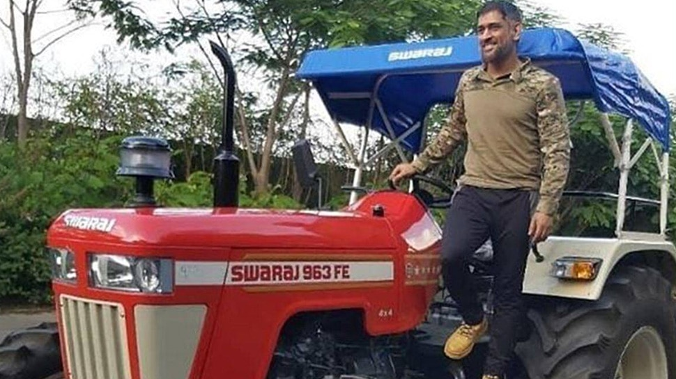 MS Dhoni Tractor 2