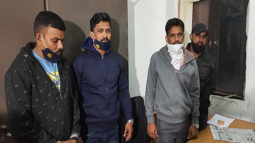 जयपुर: ACB ने मुंबई पुलिस के SI और 3 कांस्टेबलों को घूस लेते किया गिरफ्तार