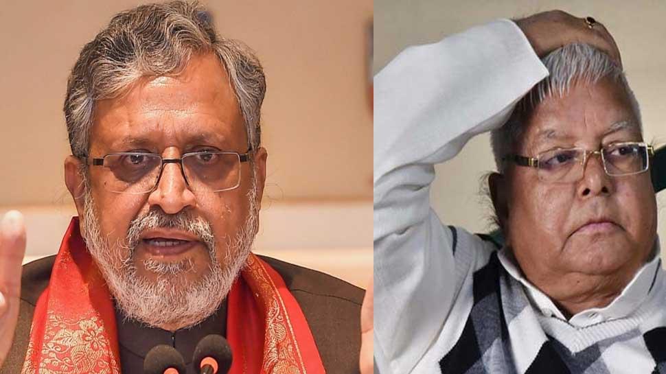 Sushil Modi ने Lalu Yadav पर लगाए गंभीर आरोप, जेल से रच रहे हैं साजिश