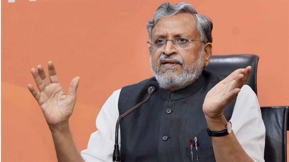 बीजेपी ने की घोषणा, बिहार से सुशील कुमार मोदी बने राज्यसभा उम्मीदवार