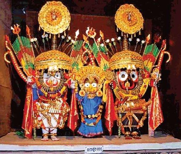 श्रीजगन्नाथ भगवान ने किया नागार्जुन शृंगार, धारण किए 16 अस्त्र-शस्त्र