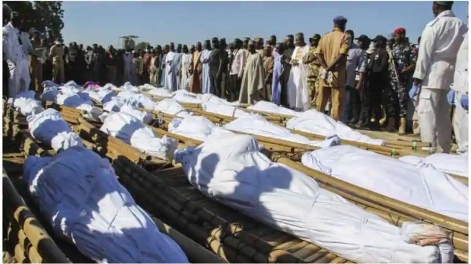 नाइजीरिया में Boko Haram के जेहादियों ने बांधकर मार दिए 110 गरीब किसान