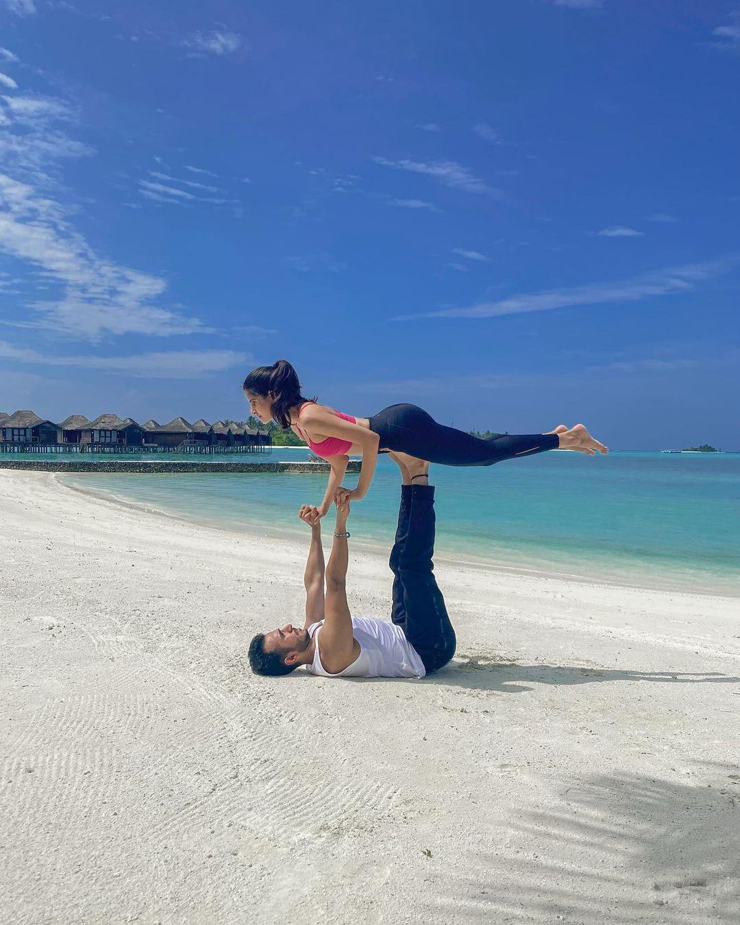 sakshi malik in maldives