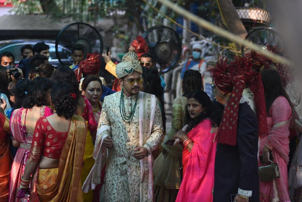 Aditya Narayan wedding photos