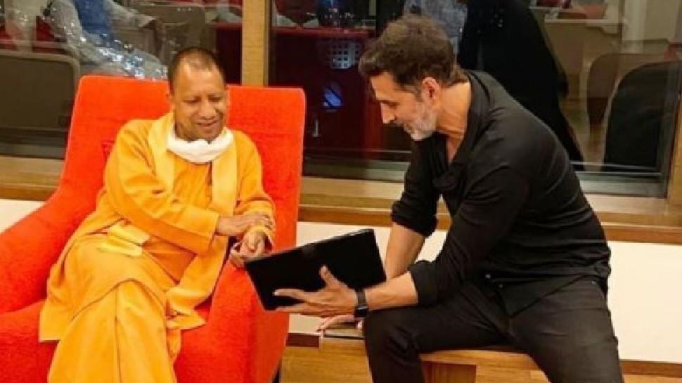CM Yogi Adityanath ने Akshay Kumar को दिया इनविटेशन, इस फिल्म की UP में हो सकती है शूटिंग