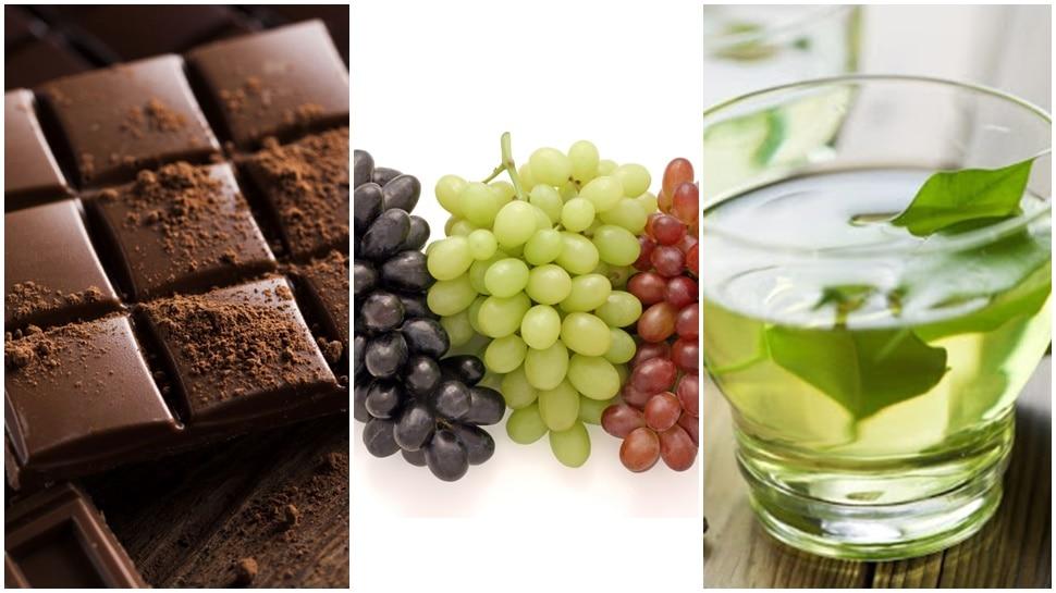 डार्क चॉकलेट, ग्रीन टी और अंगूर से रोका जा सकता है Covid-19