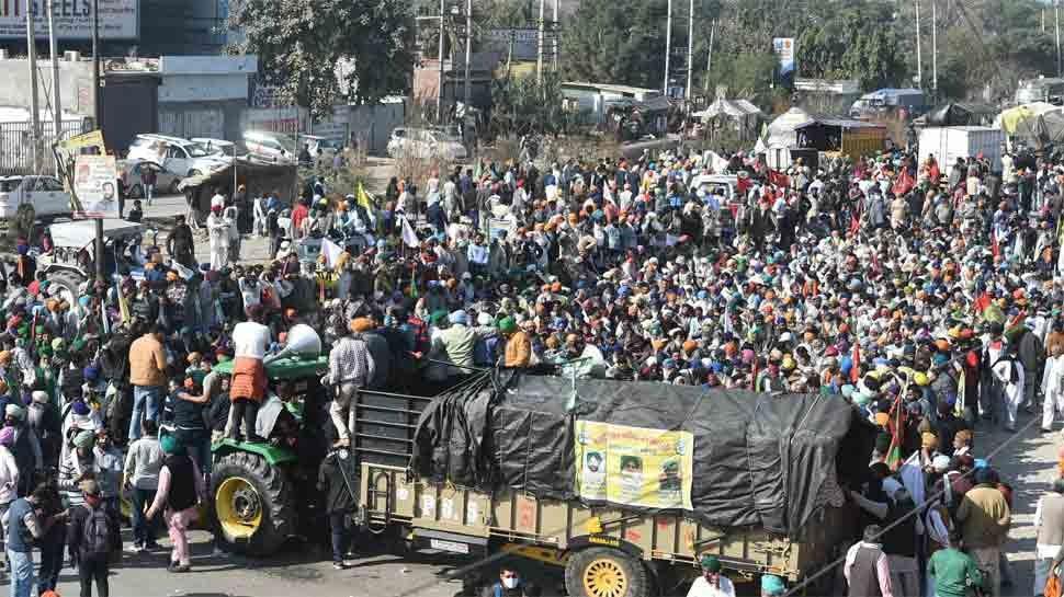 Farmers Protest LIVE UPDATES: किसानों से चौथे दौर की वार्ता आज, अमित शाह से मिलेंगे कैप्टन अमरिंदर