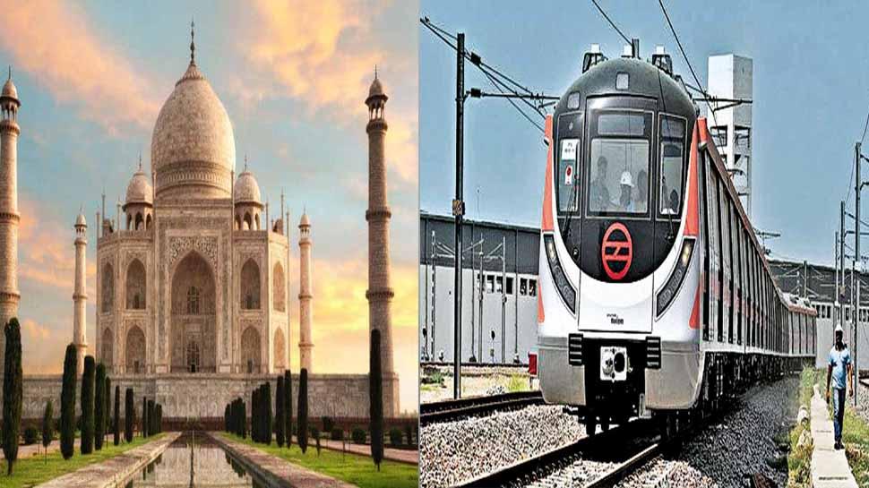 अब 'ताजनगरी' की भी बढ़ेगी रफ्तार, शहर में जल्द दौड़ेगी मेट्रो