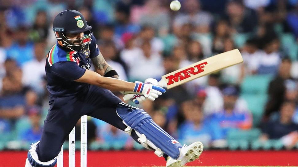 IND vs AUS: Virat Kohli ने लगाया Scoop Shot, तो AB de Villiers ने दिया मजेदार रिएक्शन