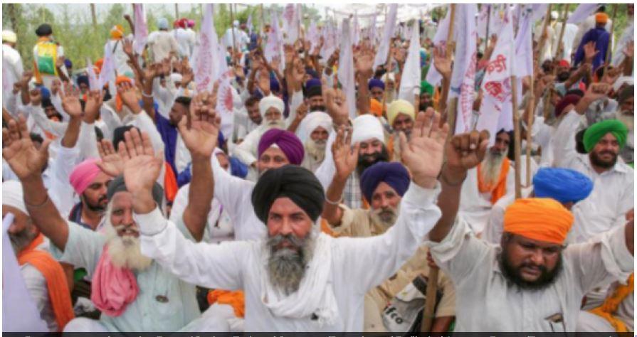 आंदोलन कर रहे किसानों का माफीनामा वायरल, लिखा- 'तकलीफ देना उद्देश्य नहीं, मजबूरी है'