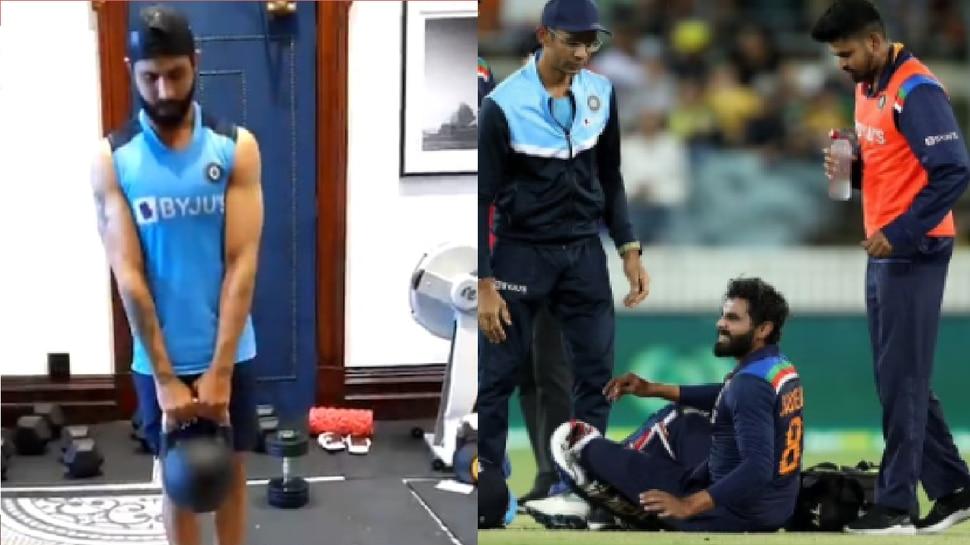 IND Vvs AUS: टीम इंडिया के लिए खुशखबरी, Ravindra Jadeja ने शुरू की ट्रेनिंग; देखें Viral Video