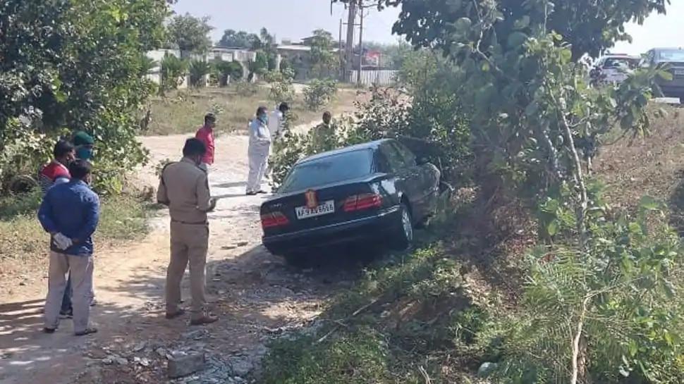 हिमाचल प्रदेश के राज्यपाल बंडारू दत्तात्रेय की कार दुर्घटनाग्रस्त, बाल-बाल बचे