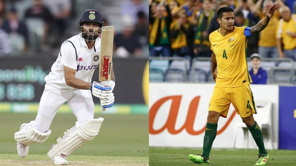 Virat Kohli के मुरीद हैं Australia के फुटबॉल दिग्गज Tim Cahill, जानिए तारीफ में क्या कहा