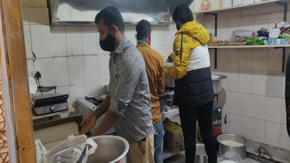 Baba employees extra staff at the new restaurant