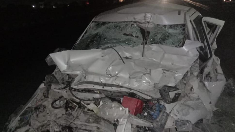 नया साल सेलिब्रेट करने के जा रहे दोस्तों का Accident, चारों की मौके पर ही दर्दनाक मौत