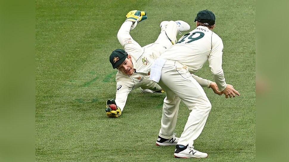 IND vs AUS Boxing Day Test:Tim Paine ने लिए  Cheteshwar Pujara का शानदार कैच