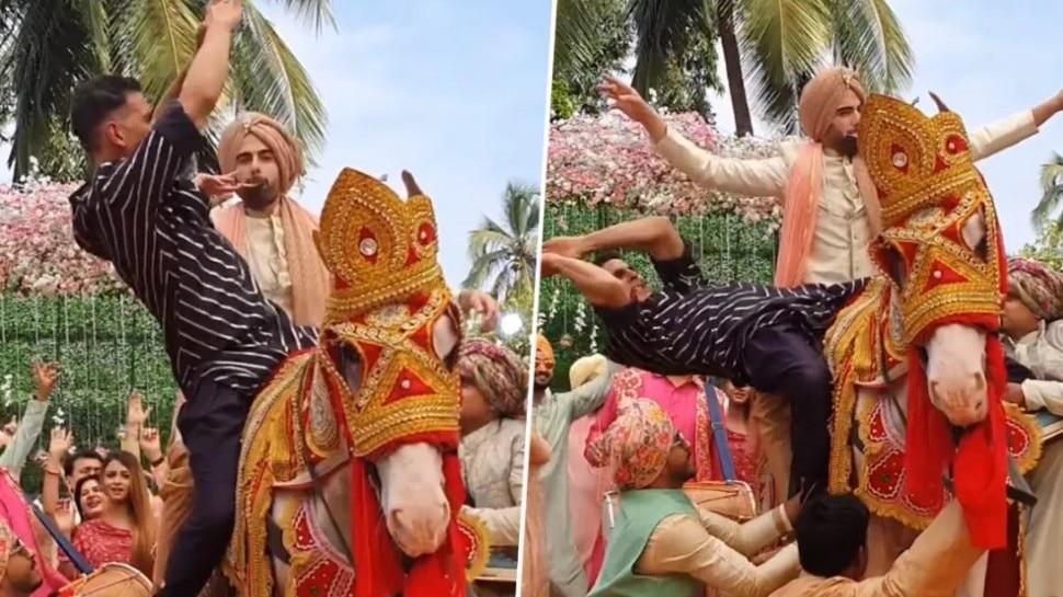 घोड़ी पर चढ़कर Akshay Kumar ने यूं किया नागिन डांस, हंस हंसकर लोटपोट हुए फैंस