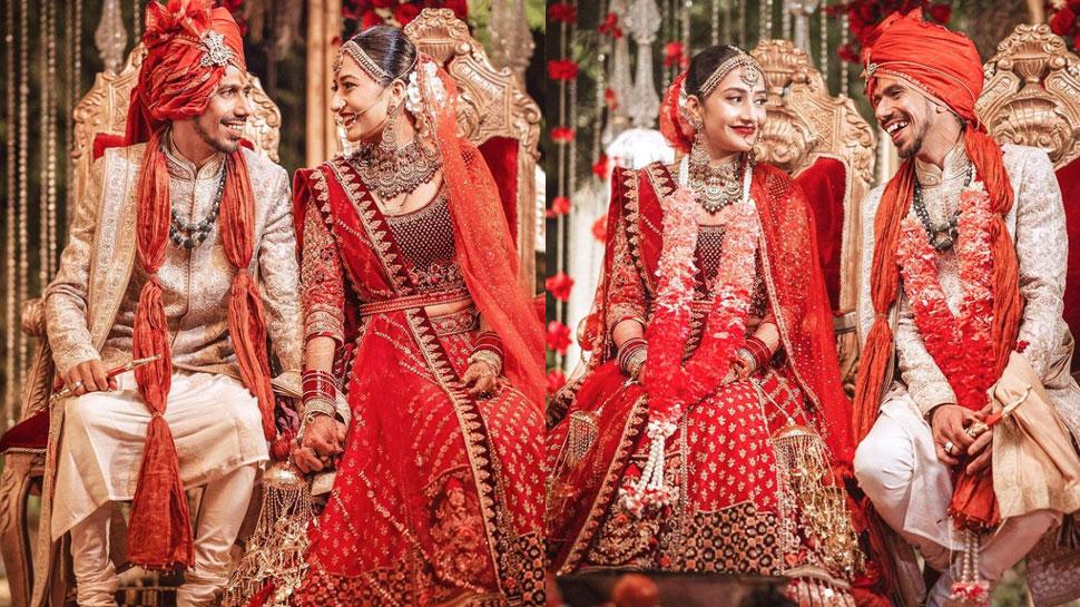 Yuzvendra Chahal Dhanashree Verma Marriage