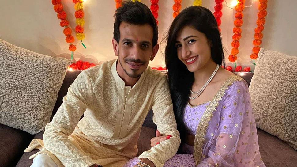 Yuzvendra Chahal Dhanashree Verma Engagement