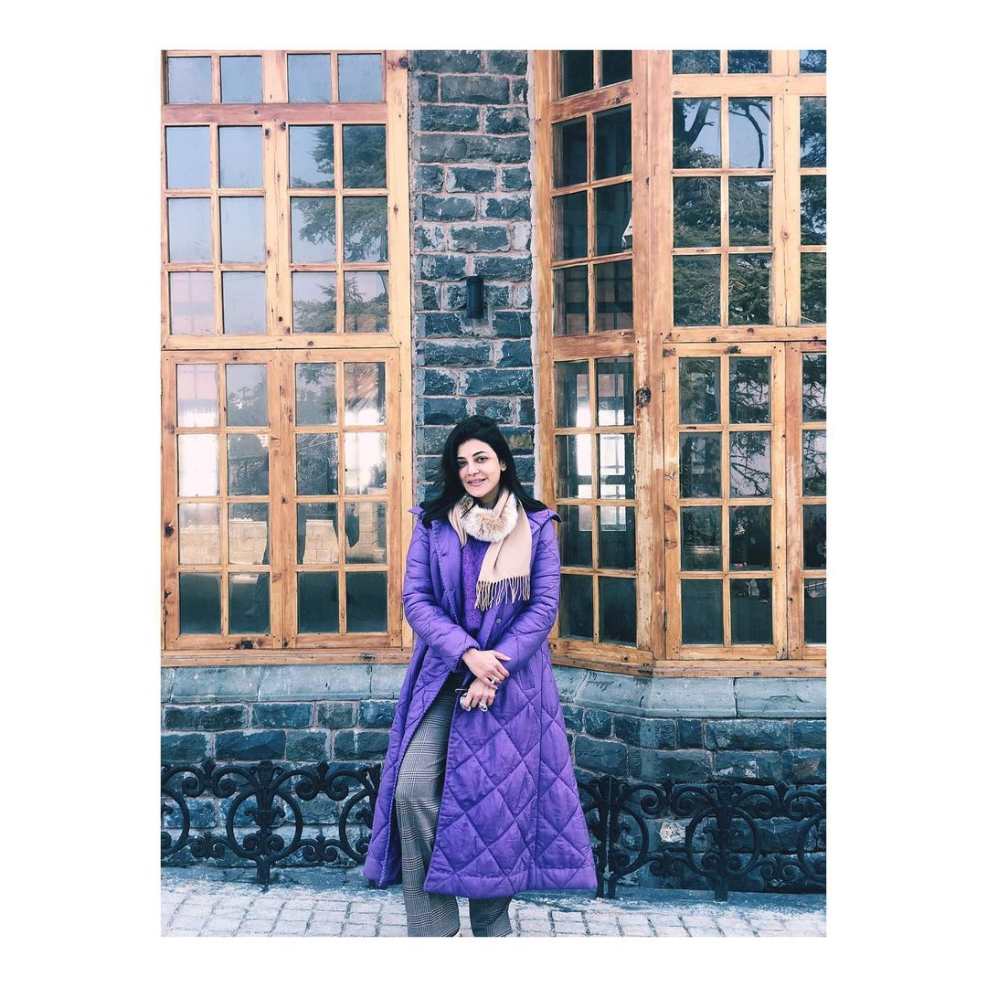 Kajal Aggarwal shimla vacation